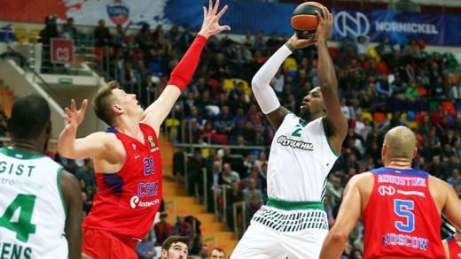CSKA Moskova - Panathinaikos Superfoods Athens maç özeti