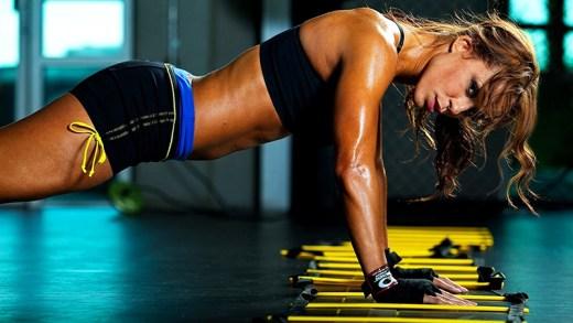 süper fit kadınlar gym