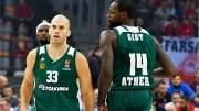 Panathinaikos Superfoods Athens EuroLeague 7. Maçında Khimki Moskova'yı Farklı Mağlup Etti