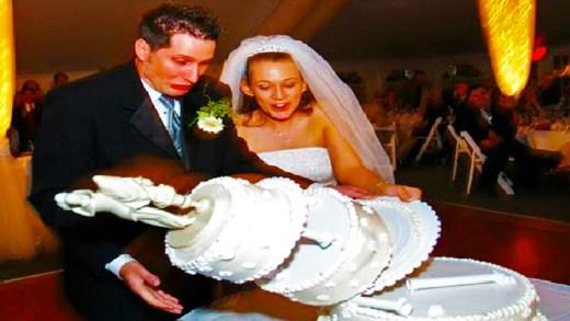 komik düğün kazaları