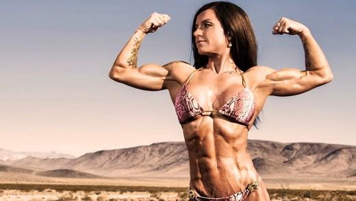 süper güçlü kaslı kadınlar