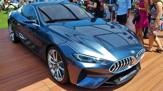 BMW 8 serisi tanıtım test