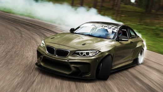 BMW Drift testi