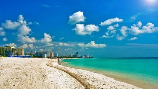 florida atlantik okyanusu manzarası