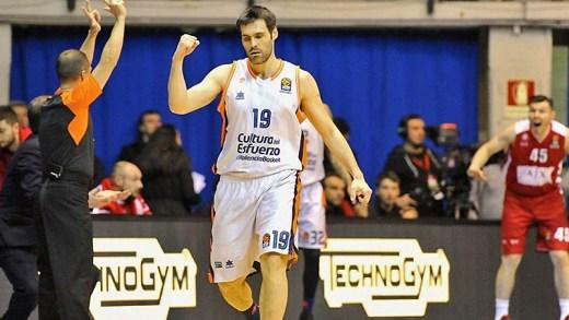 Fernando San Emeterio EuroLeague gecenin asisti