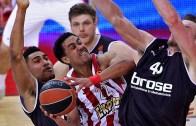Olympiacos Piraeus'dan Brose Bamberg'e Geçit Yok