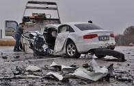 Almanya Yollarında Tehlikeli Kazalar