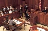 Mahkemede Şahidi Öldürmek İstedi