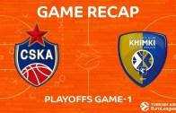 CSKA Moskova Avantajı Yakaladı