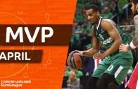 Euroleague Nisan MVP : Brandon Davies
