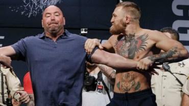 Öfkeli Dövüşçü McGregor'un Kontrolü Kaybettiği Anları