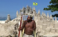 22 Yıldır Kumdan Kale İçinde Yaşayan Çılgın Kral