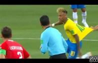 Brezilya'nın Beraberliği Kadar Neymar'ın Saçı da Şok Etti