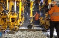 İnanılmaz Hız! 1500 Çinli İşçi 8,5 Saatte Demiryolu Hattı İnşa Etti
