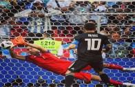 Messi Penaltı Kaçırdı ! İşte o Anlar
