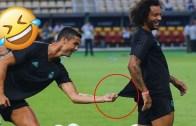 Sıkı Dostlar! Cristiano Ronaldo ve Marcelo