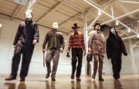 Böyle Grup Görmediniz! Freddy, Jason, Ghostface, Michael Myers Ve Leatherface Bir Arada