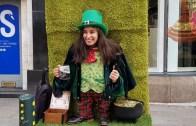 Dublin Sokaklarında Cüce Cin Olan İnsanlar