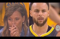 Stephen Curry'nin Annesi İki Oğlunu da Aynı Anda Desteklerken