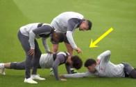 Futbolcuların Antrenmanlardaki Komik Anları