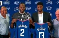 Clippers'tan Dev Hamle: Kawhi Leonard ve Paul George