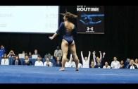 İzlenme Rekorları Kıran Jimnastikçi Sosyal Medyanın Gündeminde
