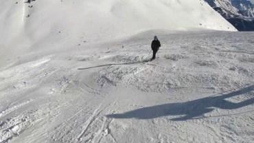 Kışı Özleyenlere Gelsin! 4K Kayak Çekimi Alpler