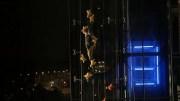12 Saniyede 23 Metre tırmandı, Asansörle Yarıştı
