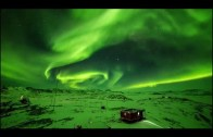 Antarktika'da Aurora Işık Şöleni