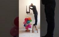 Balon Patlatma İşinde Bir Profesyonel