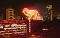 Stadyum Açılışında Muhteşem Hologram Gösterisi