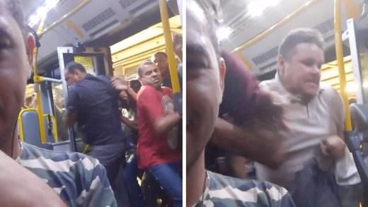 durağa yanaşan metrobüse hücum eden kalabalık