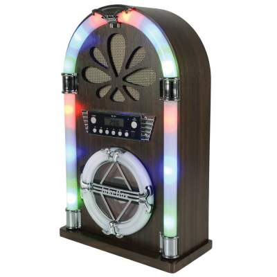 QTX Roadhouse Mini Jukebox with Bluetooth