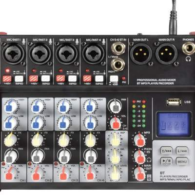Citronic CSM Compact Mixers With USB and Bluetooth