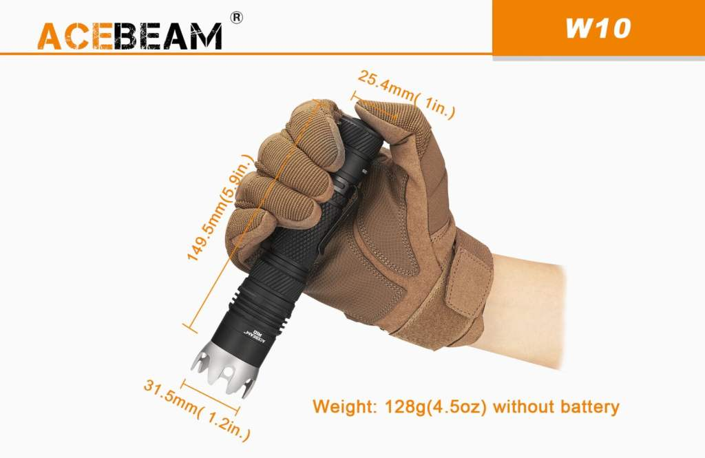 Acebeam W10 White Laser. 1000m Beam Throw. Acebeam Official UK Dealer, Yowcha! The latest long-throw Lasers from ACEBEAM