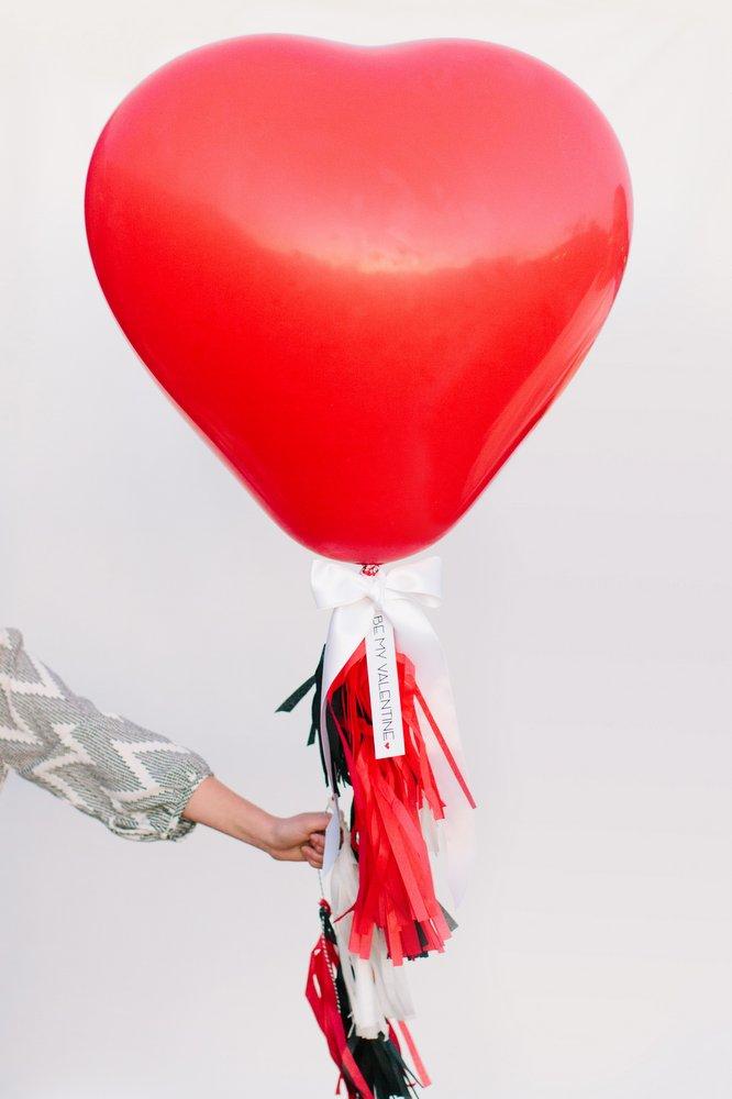 Giant Heart Balloons 36inch 90cm YoYo Balloons