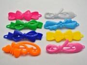 mixed color assorted plastic