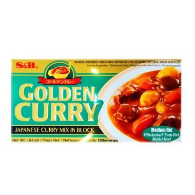 S&B Golden Curry (Medium Hot)