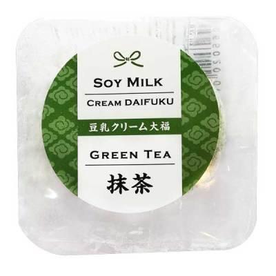 Soy Milk Cream Daifuku (Green Tea)