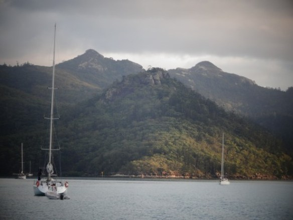 Australie- Whitsunday: Ce matin le reveil ete ici.