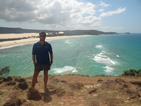 Australie- Frazer Island: on me reproche de ne pas etre sur les photos tres souvent...tous le monde est content?
