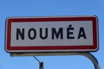 Nouvelle-Caledonie: Panneau Noumea