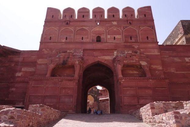 Fatehpur Sikri en Inde entre citadelle, mosquée et histoire unesco photo blog voyage tour du monde http://yoytourdumonde.fr