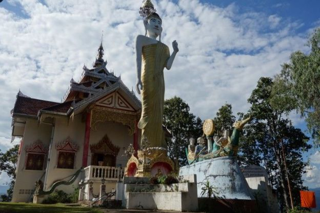 Thailande: Temple bouddhiste et Boudha