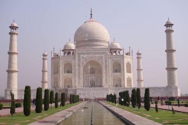 Agra Taj mahal visite blog tour du monde http://yoytourdumonde.fr
