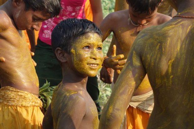 fete hindouiste du cote de l'ile de l'ogre en birmanie photo blog voyage tour du monde http://yoytourdumonde.fr