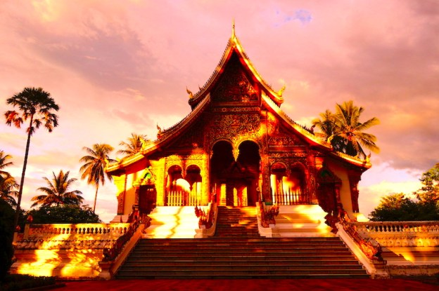 Palais Royal de Luang Prabang laos photo blog voyage tour du monde http://yoytourdumonde.fr