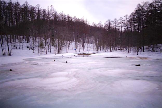 Lorsqu'un chemin est interdit vous ne devez pas y aller...notamment pour lac gelé. Photo blog voyage tour du monde http://yoytourdumonde.fr