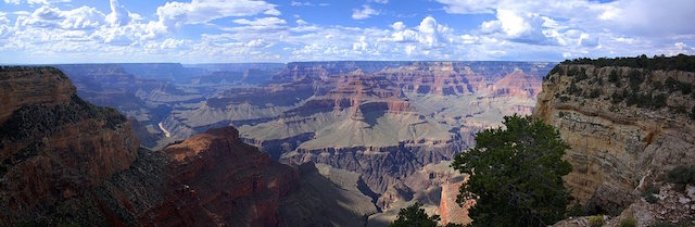 L'immensité du Grand Canyon dans l'Ouest des Etats-Unis, photo blog tour du monde http://yoytourdumonde.fr