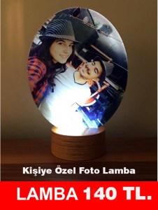 kisiye ozel foto lamba